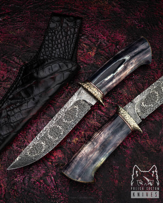 HUNTING KNIFE LEGENDS FANCY FIGHTER MICHO