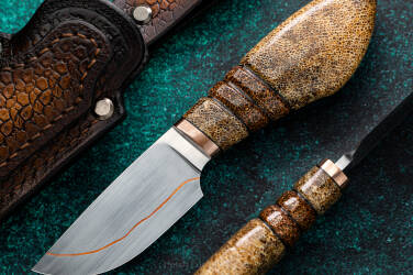 HUNTING KNIFE SKINNER 2 SAN MAI  MOOSE