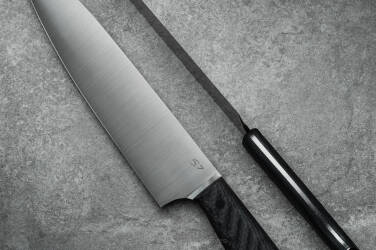 KITCHEN KNIFE CHEF AEB-L CARBON FIBRE SJ