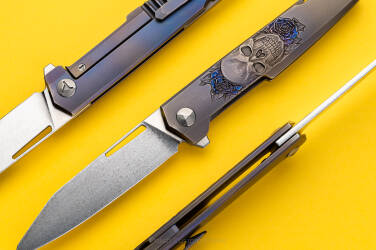 FOLDING KNIFE MR. BLADE SNOB PIMPED by MICHO