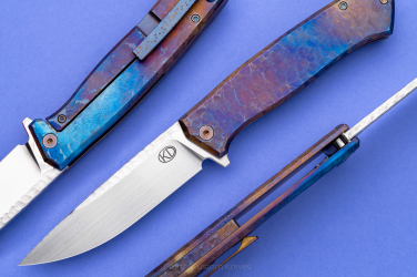 FOLDING KNIFE ARSEN KD PIMPED BY MICHO 2