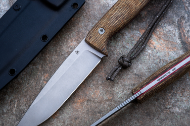 KNIFE AGOR EDC BROWN  AK