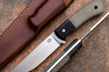 SURVIVAL KNIFE WAYFARER M390 MICARTA G10 1