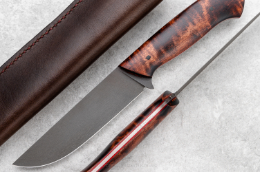HUNTING KNIFE HUNTER V4.3 STRIPED MAPLE