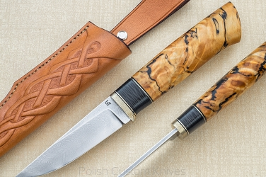 KNIFE DAMASCUS DELINEATION KARUD
