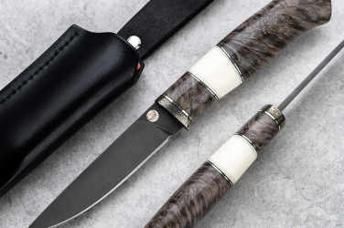 HUNTING KNIFE WOOTZ HUNTER I KARUD