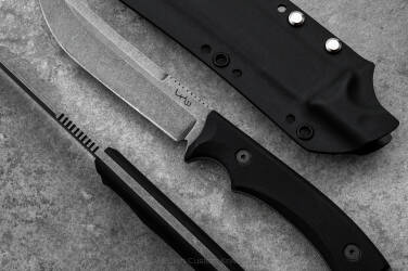 TACTICAL KNIFE PHANTOM G10 BLACK LKW