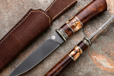 HUNTING KNIFE WOOTZ HUNTER III KARUD