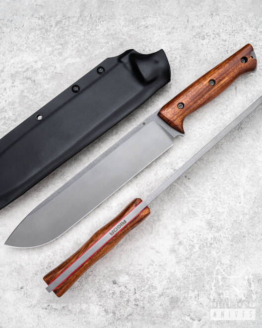 SURVIVAL KNIFE CHOPPER ODC 220 JATOBE RIGOR A2 AK