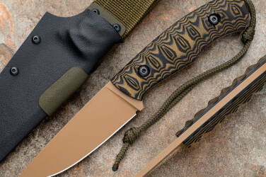 HUNTING KNIFE POGWIZD HUNTER 2 D2 MICARTA SIMON'S