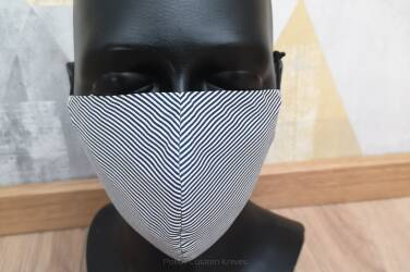 Double-layer protective mask