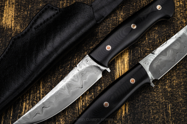 HUNTING KNIFE HUNTER G10 MOD 1.2 GREG FORGE