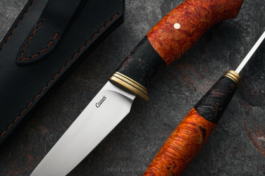HUNTING KNIFE VIPERA II ORANGE CRONOS